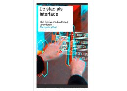 Martijn de Waal - De stad als interface